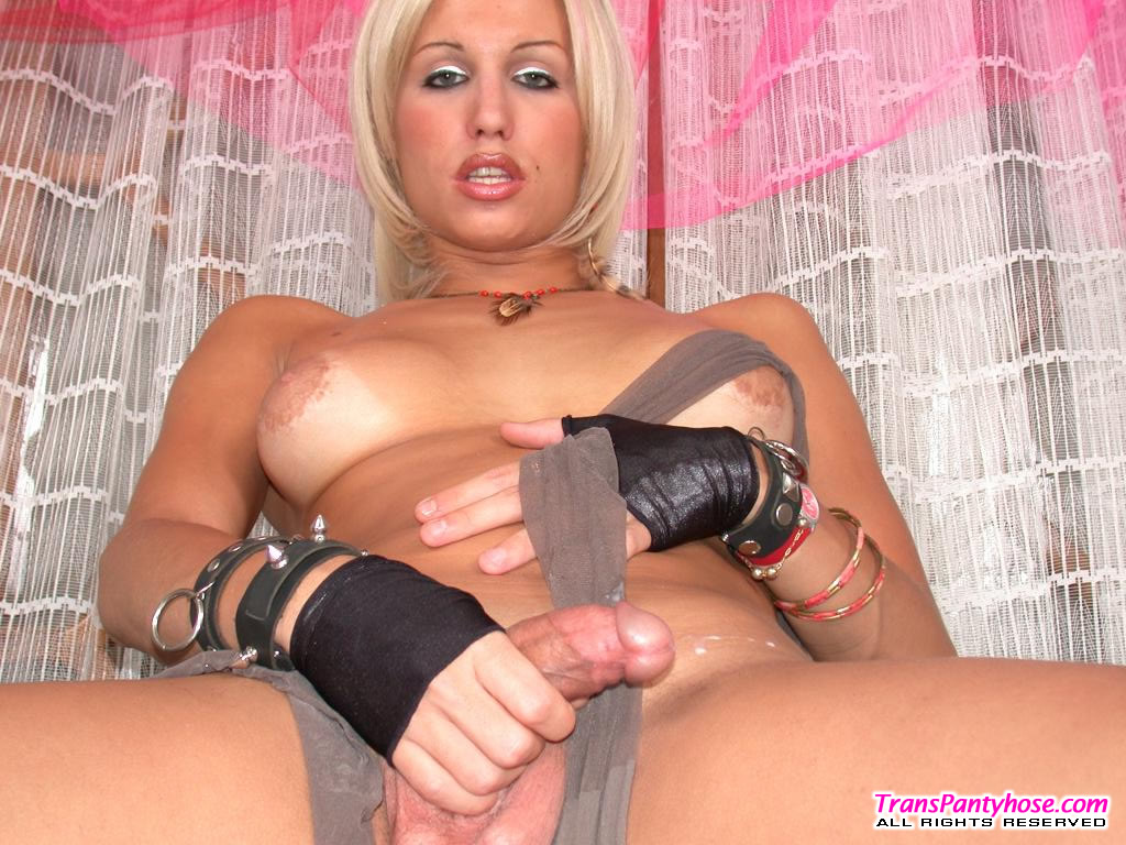 from Kyler shemale pantyhose tubes